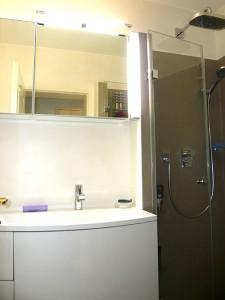 Waschbecken & Dusche